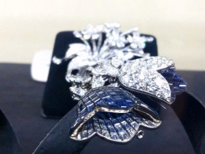 "Fabulous brooches with inimitable invisible ""mystery"" setting patented by Van Cleef and Arpels in 1933."