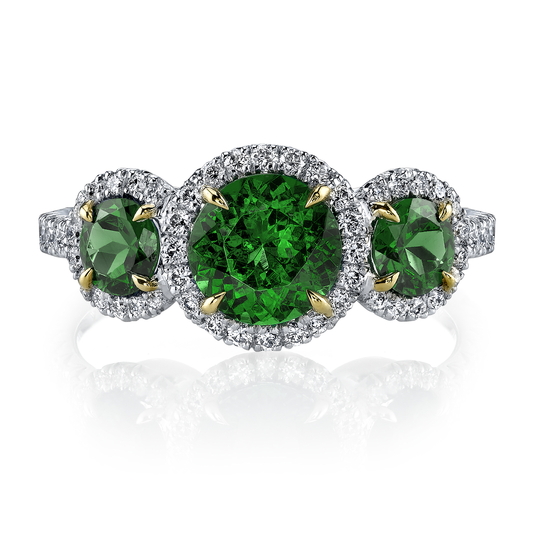 ring site old tsavorite garnet jewelers worthington rings green