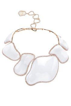 Kogolong and diamond necklace, Chantecler