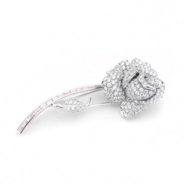 Rose brooch, Picchiotti