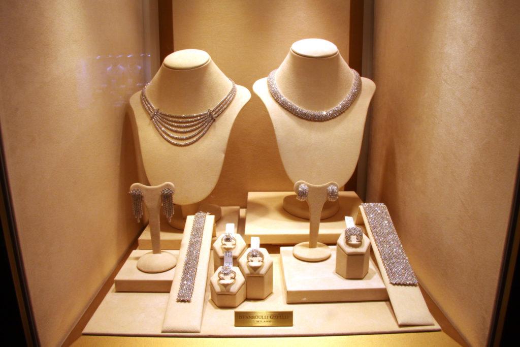 Diamond pave' set, Istanboulli Gioielli