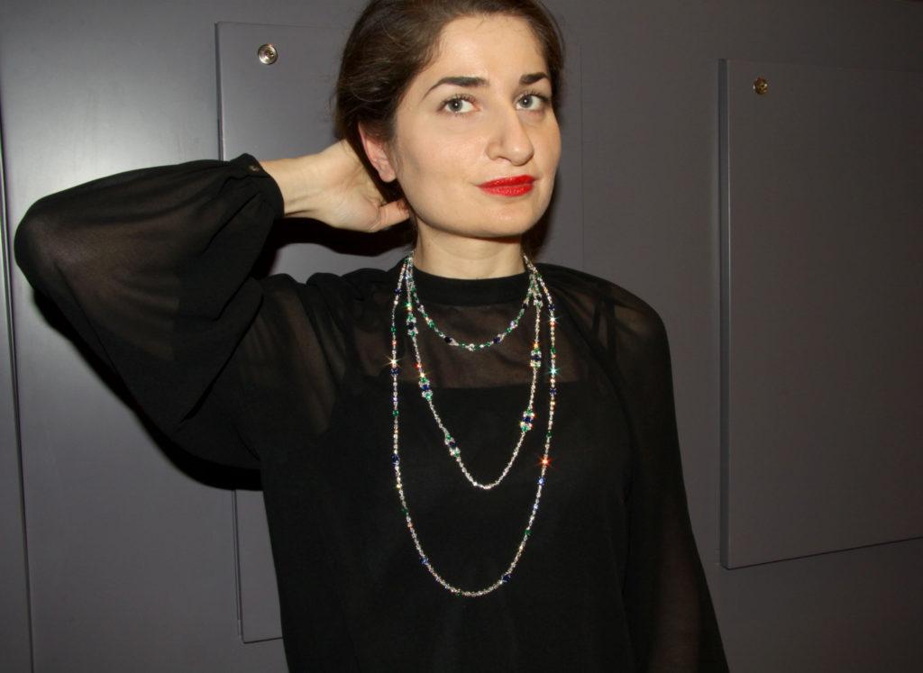 Sapphire, emerald , diamond necklaces, Istanboulli Gioielli