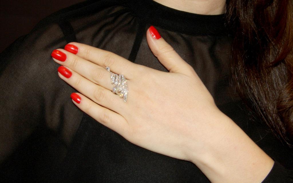 Diamond pave' ring, Istanboulli Gioielli