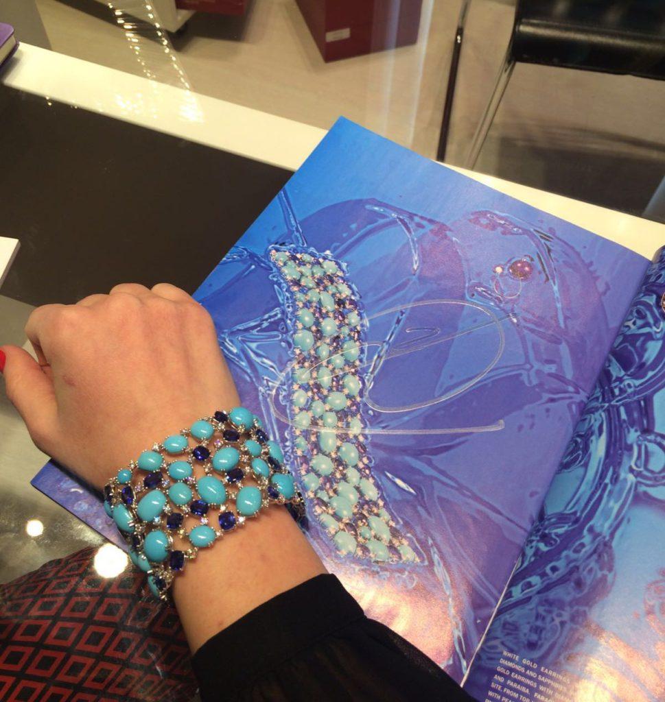 Sleeping beauty turquoise bracelet, Istanboulli Gioielli