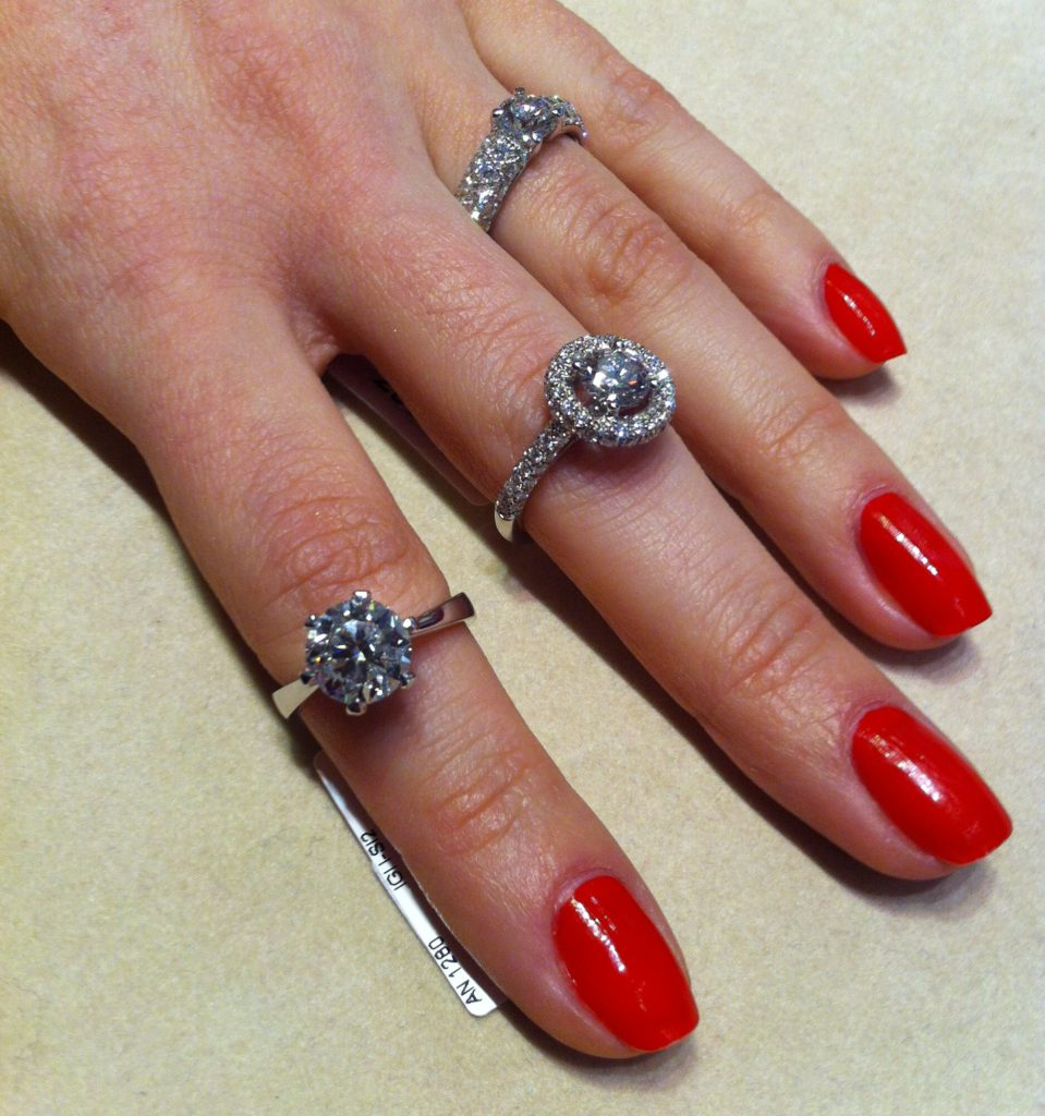 Solitaire rings, Istanboulli Gioielli