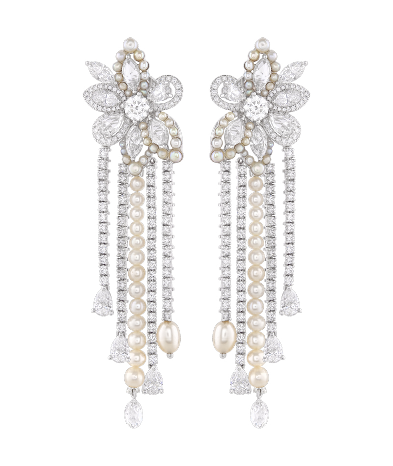 Luminance earrings, Nirav Modi