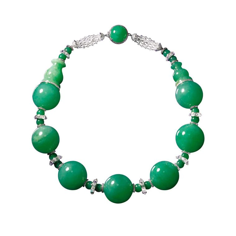 Imperial Jadeite necklace, Boghossian Jewels