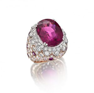 Essentially Colour Oval Rubellite ring, Picchiotti