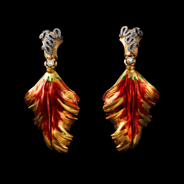 Lale earrings, Otto Jakob