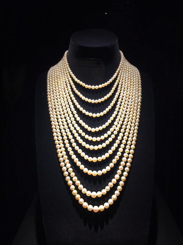 Natural pearl sautoir necklace, JAR(Al Thani Collection)