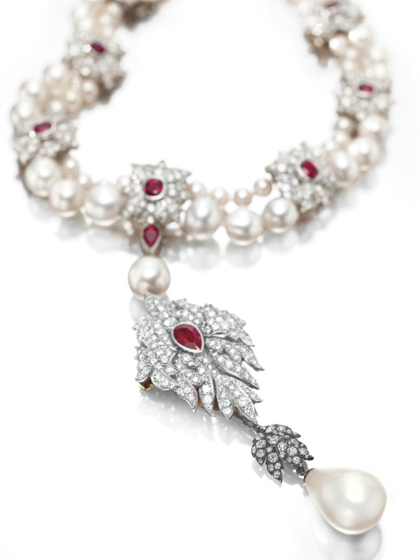La Peregrina necklace, Cartier
