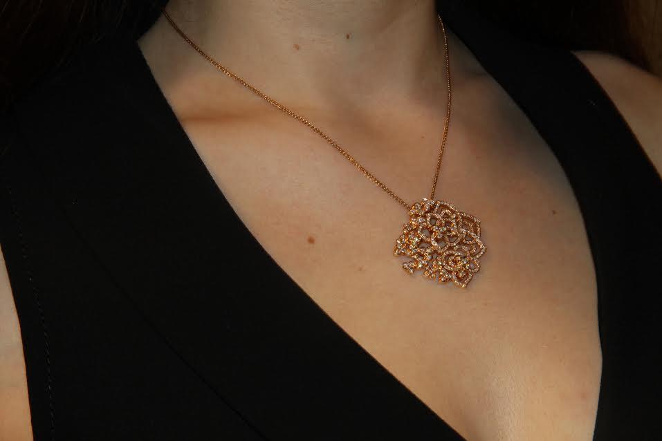 Hortensia pendant, Chaumet