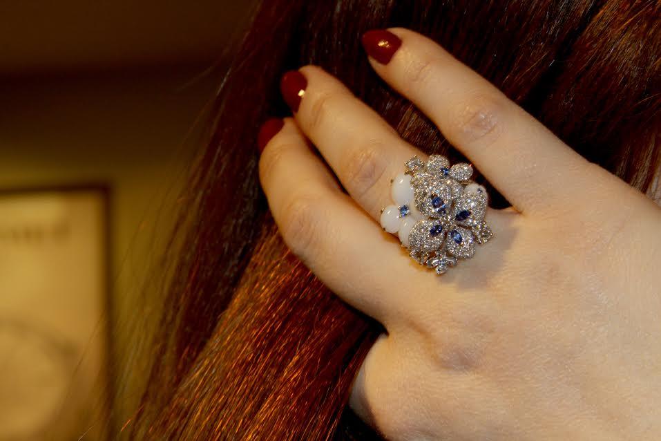 Hortensia ring, Chaumet