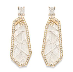 Golden Sunlight earrings, Piaget