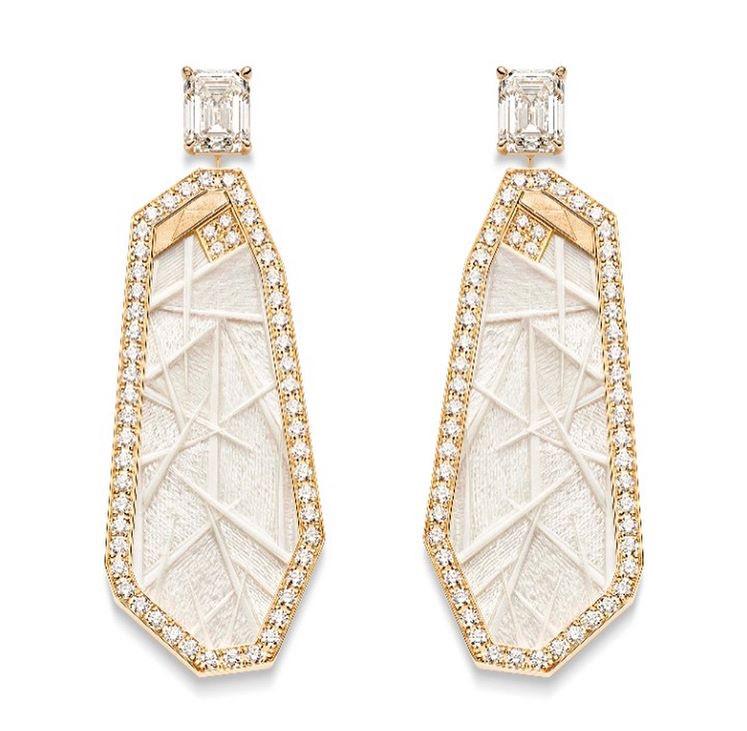 Golden Sunlight earrings, Piaget