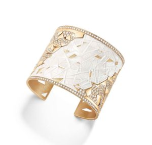 Golden Sunlight cuff, Piaget