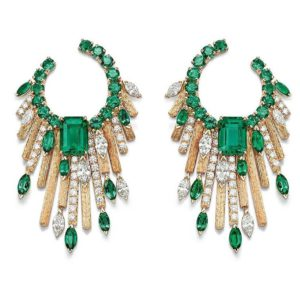 Midnight Sun earrings, Piaget