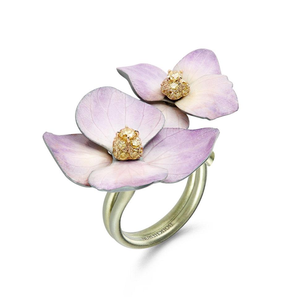 Fleures eternelles ring, Boucheron