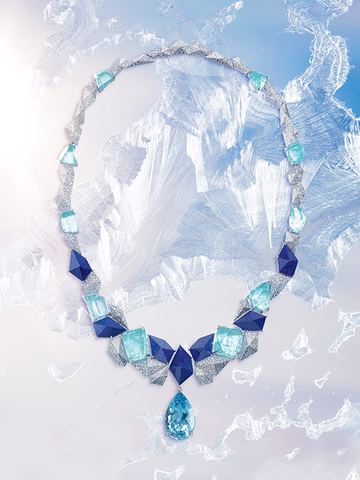 Infinite Blue necklace, Piaget