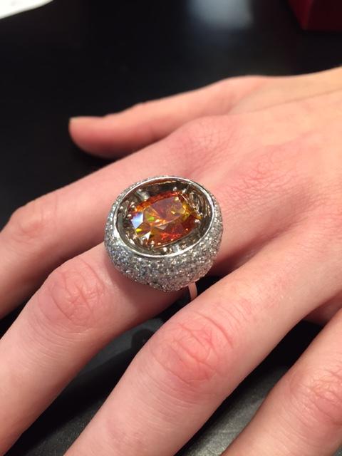 Sphalerite ring, Scavia