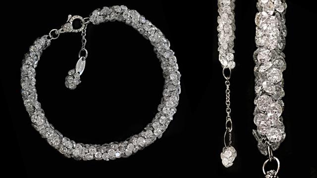 Diamond bracelet, Scavia